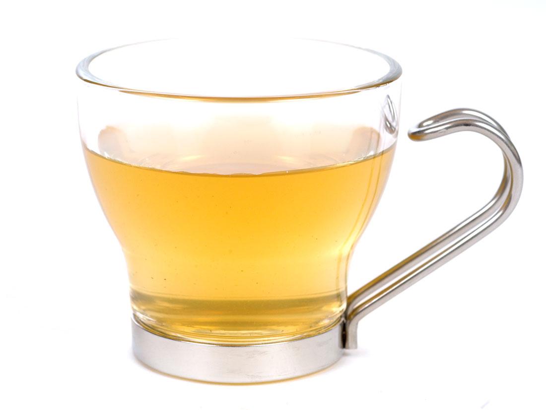 Green Tea (Gunpowder) - Brewed