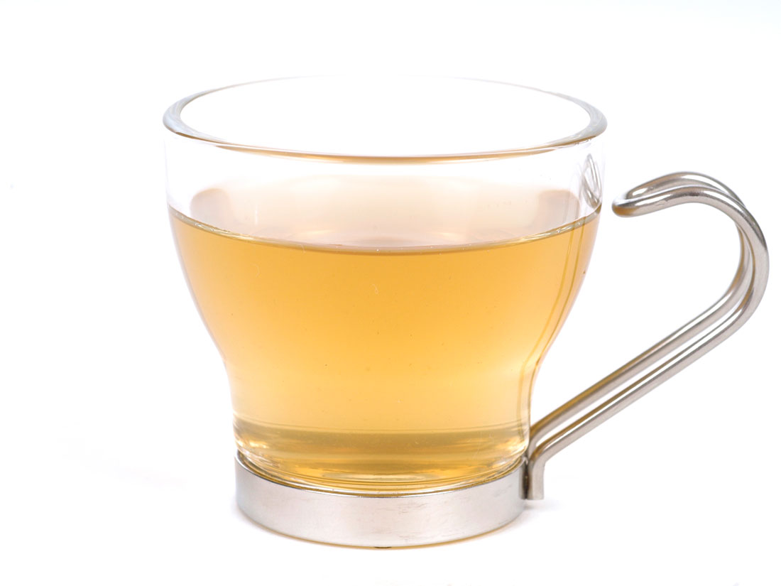 Lung Zhu Jasmine Green Tea (Dragon Pearls) - Brewed