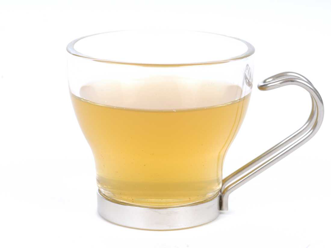 Decaffeinated Green Tea - Brewed