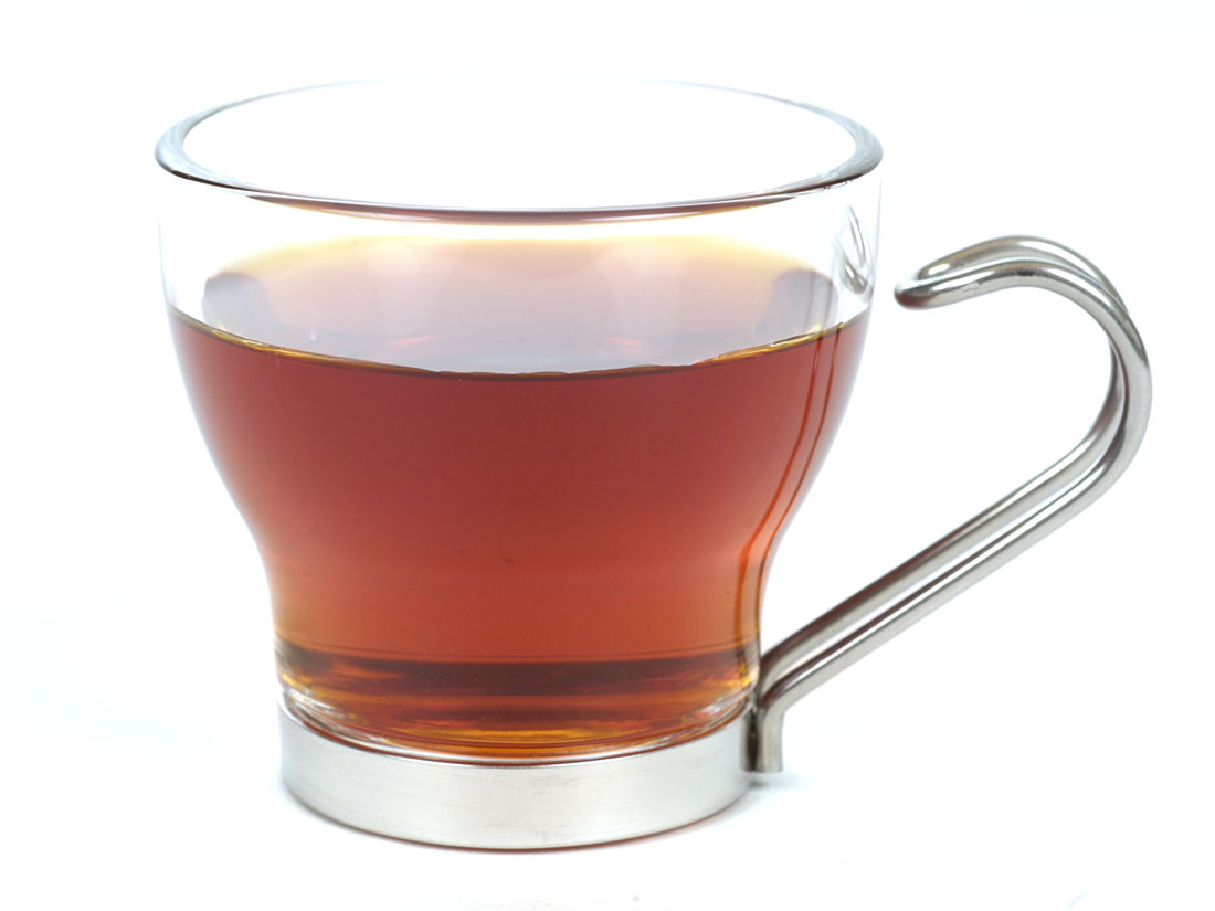 Rooibos Strawberry Cream - Brewed