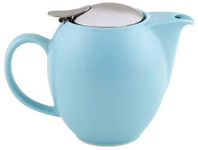 350ml Zero Teapot - Matt Light Blue