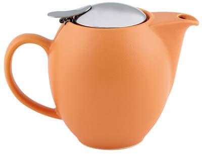 350ml Zero Teapot - Matt Orange