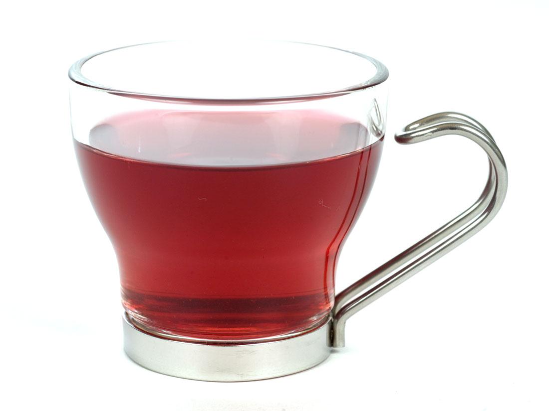 Benefits of Hibiscus Tea - Brewed