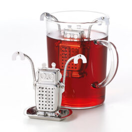 Robot Stainless Steel Infuser with rest