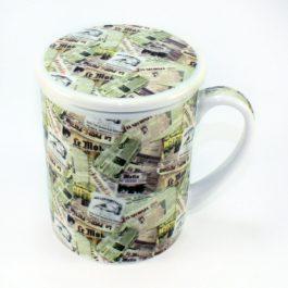 Newspaper Infuser Mug
