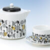 Matching cup and saucer available
