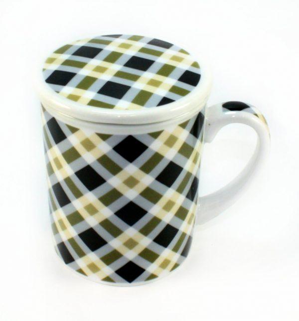 Clarke Infuser Mug with Lid