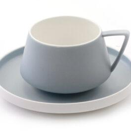 Sanna Cup and Saucer Blue